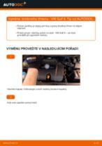Jak vyměnit přední brzdový třmen na VW Golf 4 – návod k výměně