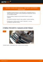 Jak vyměnit zadní brzdové kotouče na VW Golf 4 – návod k výměně