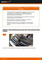 Πώς να αλλάξετε δισκόπλακες πίσω σε VW Golf 4 - Οδηγίες αντικατάστασης