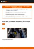 Kuidas vahetada ja reguleerida Piduriketas VW GOLF: pdf juhend
