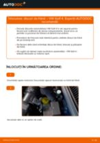 Manual de bricolaj pentru înlocuirea Disc frana în VW GOLF