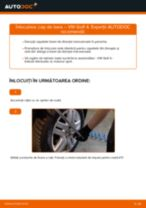 Manual de bricolaj pentru înlocuirea Cap de bara în VW GOLF
