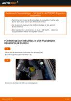 Schritt-für-Schritt-PDF-Tutorial zum Bremssattel Reparatursatz-Austausch beim Porsche 944 Coupe
