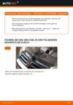 VW GOLF IV (1J1) Bremsbeläge vorderachse und hinterachse austauschen: Anweisung pdf
