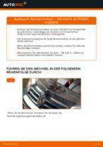 Wie VW Golf 4 Bremsscheiben hinten wechseln - Anleitung