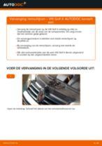 Zelf Remschijven achter en vóór vervangen VW - online handleidingen pdf