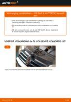 Hoe remblokken achteraan vervangen bij een VW Golf 4 – Leidraad voor bij het vervangen