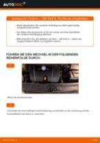Schritt für Schritt Anweisungen zur Fehlerbehebung für VW Federn hinten + vorne