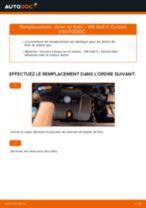 Comment changer : étrier de frein avant sur VW Golf 4 - Guide de remplacement