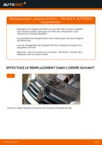 Comment changer : disques de frein arrière sur VW Golf 4 - Guide de remplacement