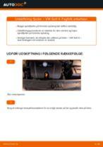 Lær hvordan du løser VW Fjeder bag venstre højre problemet