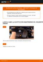 Cómo cambiar: pinza de freno de la parte delantera - VW Golf 4 | Guía de sustitución