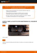 Cómo cambiar: muelles de suspensión de la parte delantera - VW Golf 4 | Guía de sustitución