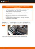Come cambiare dischi freno della parte posteriore su VW Golf 4 - Guida alla sostituzione