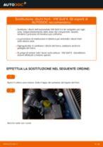 Come cambiare dischi freno della parte anteriore su VW Golf 4 - Guida alla sostituzione
