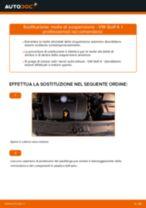Sostituzione molle di sospensione fronte: VW Golf 4 | Istruzioni