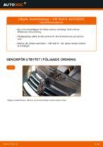 bak och fram Bromsbelägg VW Golf IV Hatchback (1J1) | PDF instruktioner för utbyte
