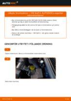 Byta bromsskivor fram på VW Golf 4 – utbytesguide