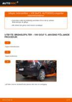 Byta bränslefilter: VW Golf 5 | Steg-för-steg-guide