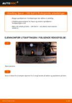 PDF med trinn for trinn-veiledning for bytte av Peugeot 307 SW Termostat