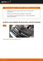 Jarrupalasarja vaihto: VW GOLF pdf oppaat