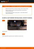 Ohje: VW Golf 4-auton jousi eteen – vaihto