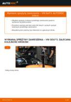 Wymiana Zacisk hamulca przednie prawy VOLVO XC90: poradnik pdf
