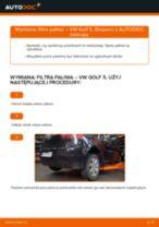 Wymiana: filtra paliwa >> VW Golf 5 | Poradnik krok po kroku