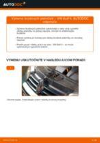 Výmena Brzdové Platničky VW GOLF: dielenská príručka