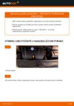 Montáž Pružina VW GOLF IV (1J1) - krok za krokom príručky
