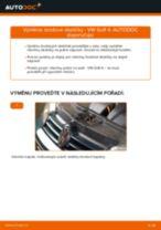 Jak vyměnit zadní brzdové destičky na VW Golf 4 – návod k výměně