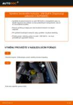 Jak vyměnit přední brzdové kotouče na VW Golf 4 – návod k výměně
