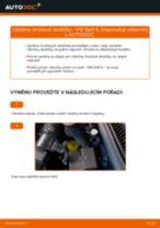 Jak vyměnit přední brzdové destičky na VW Golf 4 – návod k výměně