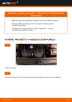 Výměna: přední pružiny podvozku >> VW Golf 4 | Návod