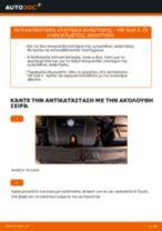 Αλλάξτε ελατήρια ανάρτησης εμπρός σε VW Golf 4 | Oδηγίες βήμα - βήμα