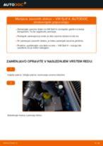 Kako zamenjati avtodel zavorni diski spredaj na avtu VW Golf 4 – vodnik menjave