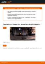 Menjava: vzmeti spredaj >> VW Golf 4 | Priročnik