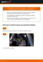Substituição Jogo de pastilhas para travão de disco VW GOLF: pdf gratuito
