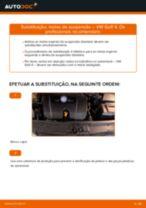 Como mudar e ajustar Molas helicoidais VW GOLF: tutorial pdf