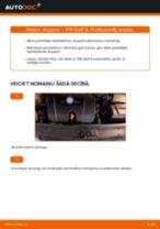 VW aizmugurē kreisais labais Piekare nomaiņa dari-to-pats - tiešsaistes instrukcijas pdf