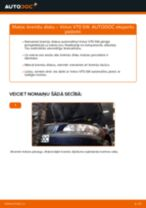 Kā nomainīt: aizmugures bremžu diskus Volvo V70 SW - nomaiņas ceļvedis