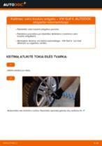 Kaip pakeisti VW Golf 4 vairo traukės antgalio - keitimo instrukcija