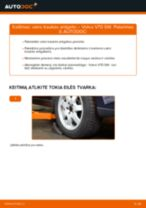 Kaip pakeisti Volvo V70 SW vairo traukės antgalio - keitimo instrukcija