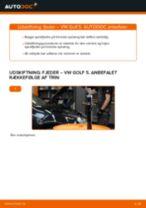 DIY-manual til udskiftning af Forlygter i AUDI A4 2020