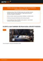 Ilmaiset ohjeet verkossa kuinka vaihtaa Jarrulevy VOLVO V70 II (SW)