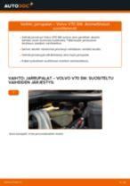 autovaraosat VOLVO V70 II (285) | PDF Opetus korjaus
