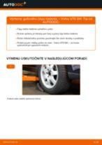 Ako vymeniť guľový čap riadenia na Volvo V70 SW – návod na výmenu