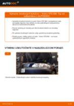 Ako vymeniť zadné brzdové kotúče na Volvo V70 SW – návod na výmenu
