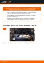 Tutorial passo a passo em PDF sobre a substituição de Cilindro do Travão da Roda no Toyota Corolla e12