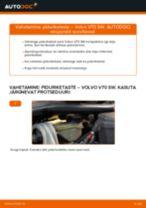Kuidas vahetada Volvo V70 SW esi-piduriketaste – õpetus